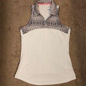 NWOT Adidas sleeveless ladies golf polo